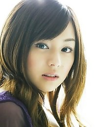 Jun Natsukawa is incredible in her purple lace lingerie